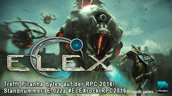 Elex : Wer unsere Fragen rund um die Spiele der Gothic-Macher richtig beantwortet, kann mit etwas Glück ihr neuestes Spiel Elex auf der RPC in Köln vor allen anderen anzocken!